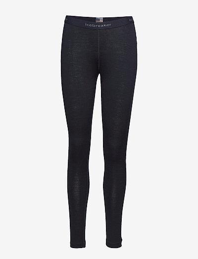 W 200 Oasis Leggings - base layer bottoms - black