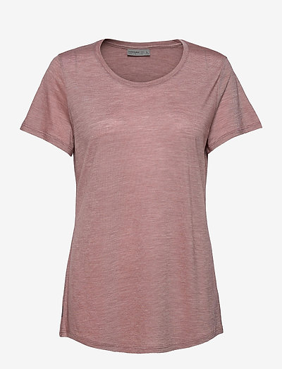 Wmns Sphere SS Low Crewe - t-shirts - suede