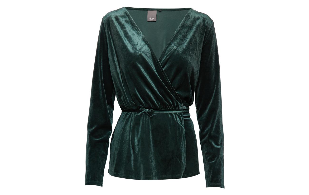 Ichi 95 Polyester 5 Elastane Black Ihvelvet Ls 78twTqWr8U