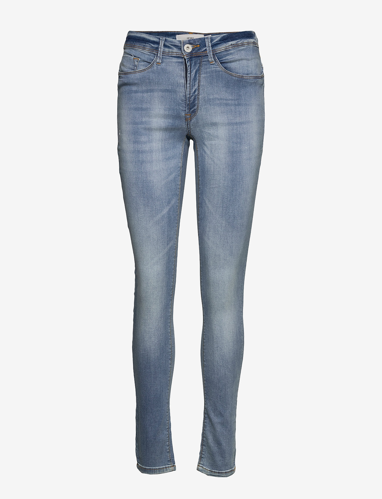 ICHI - IHERIN IZARO LIGHT BLUE BLEACHED - skinny jeans - bleached light blue - 0