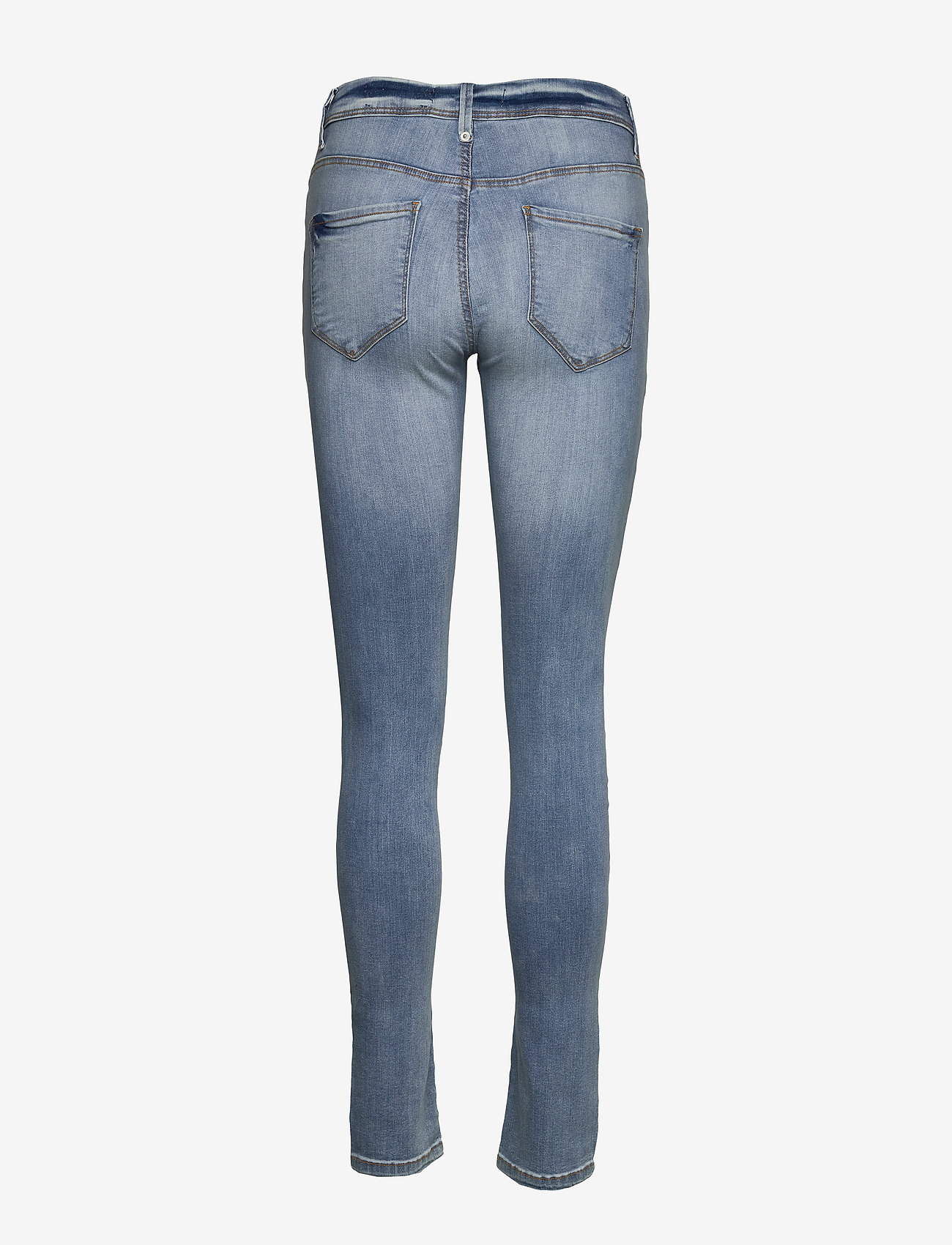 ICHI - IHERIN IZARO LIGHT BLUE BLEACHED - skinny jeans - bleached light blue - 1