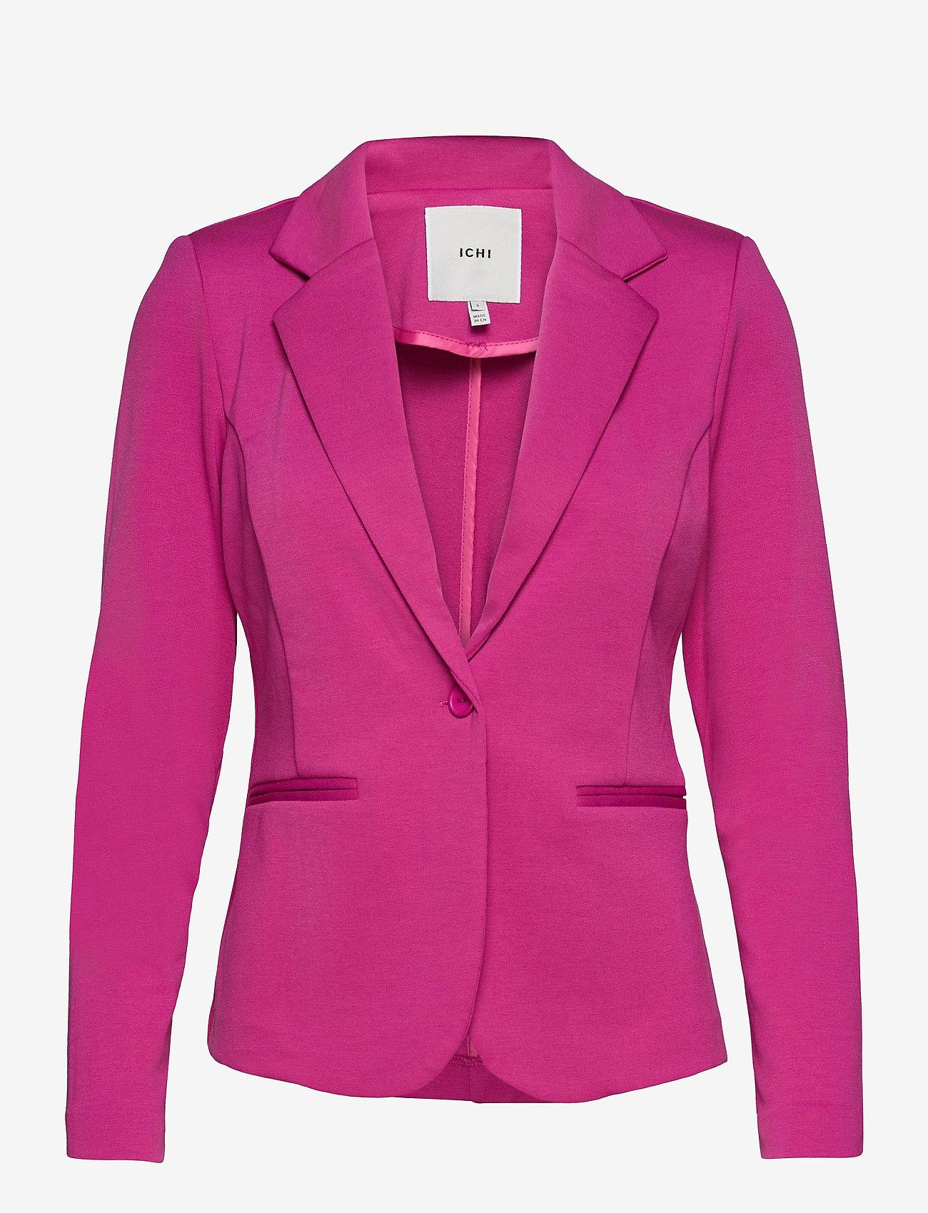 ICHI - IHKATE BL - casual blazers - fuchsia red - 0