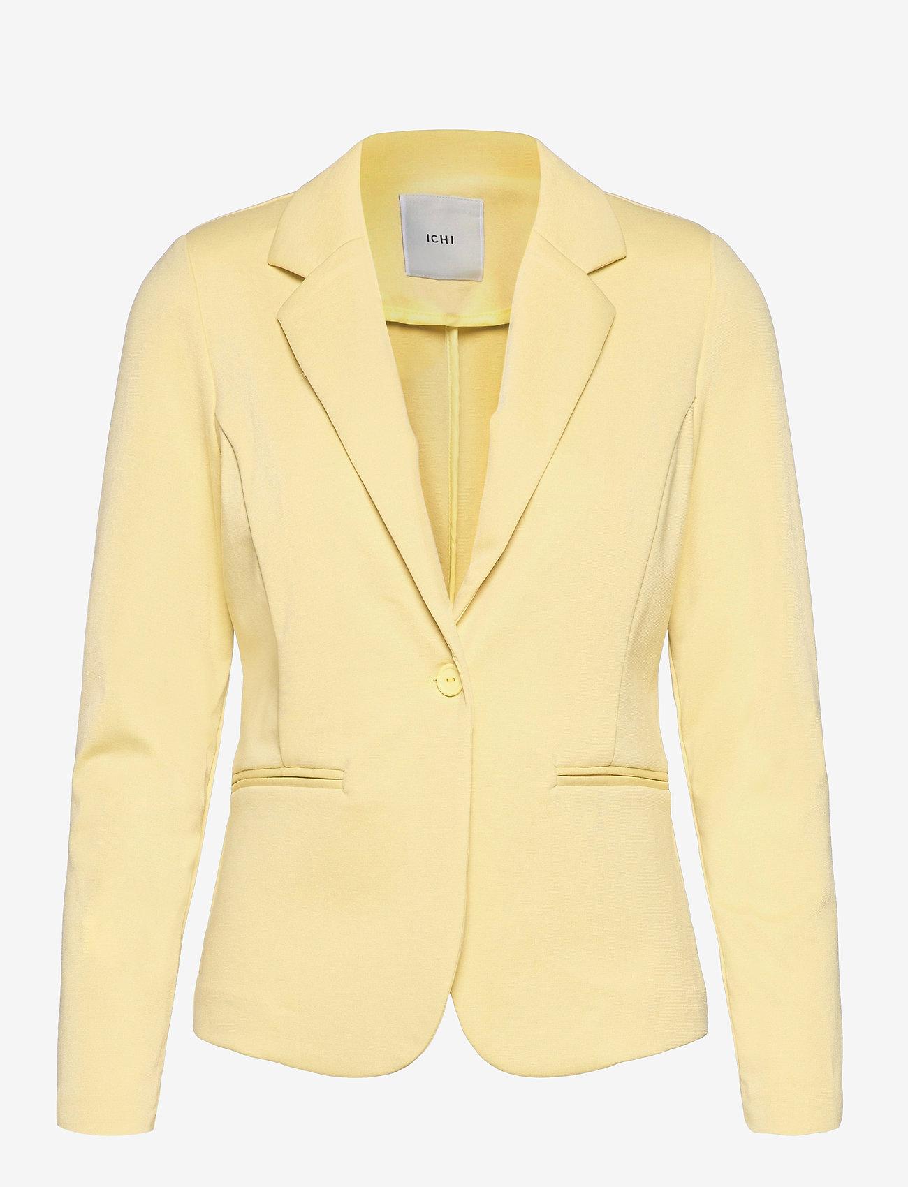 ICHI - IHKATE BL - casual blazers - golden mist - 0