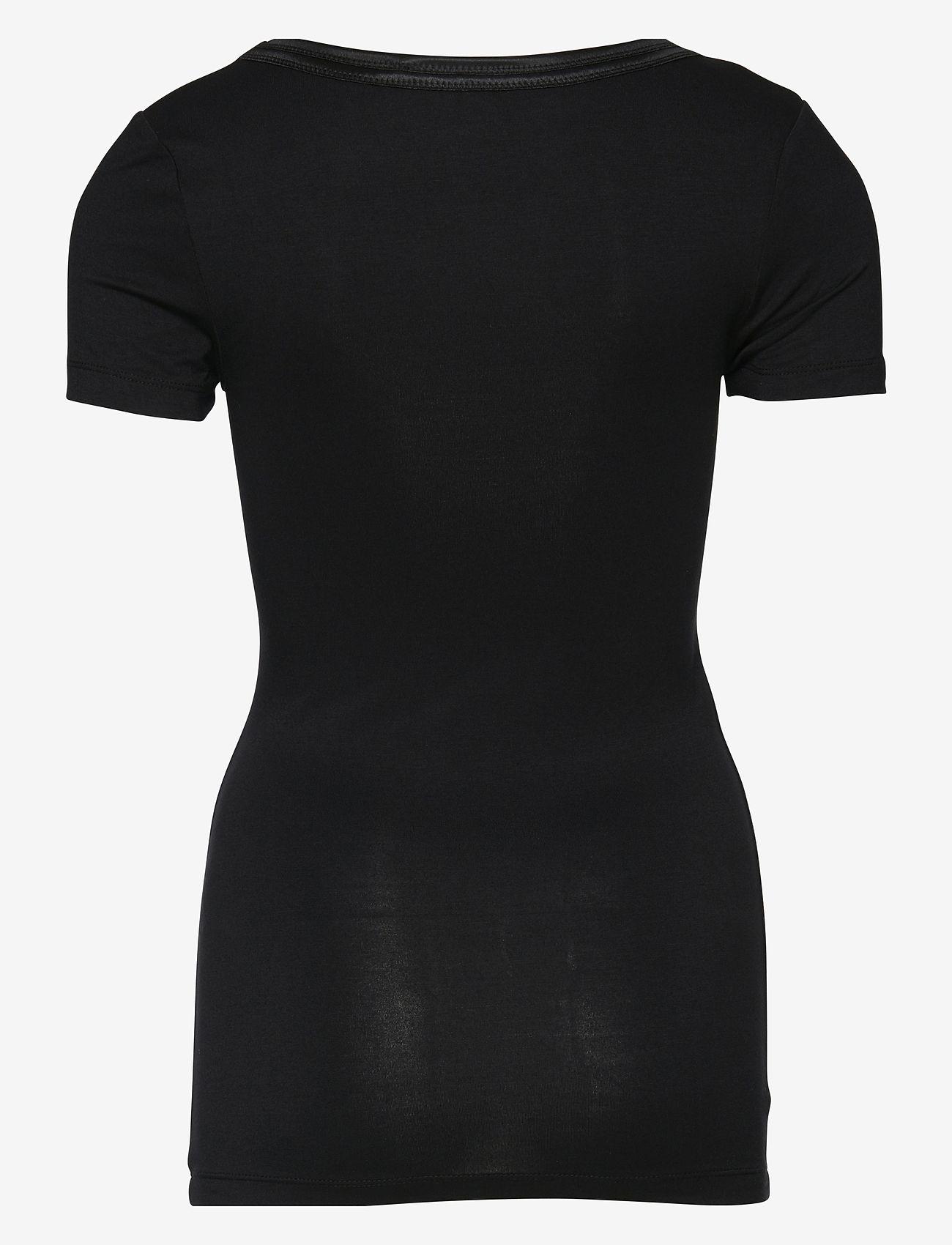 ICHI - IHZOLA SS - t-shirts - black - 1