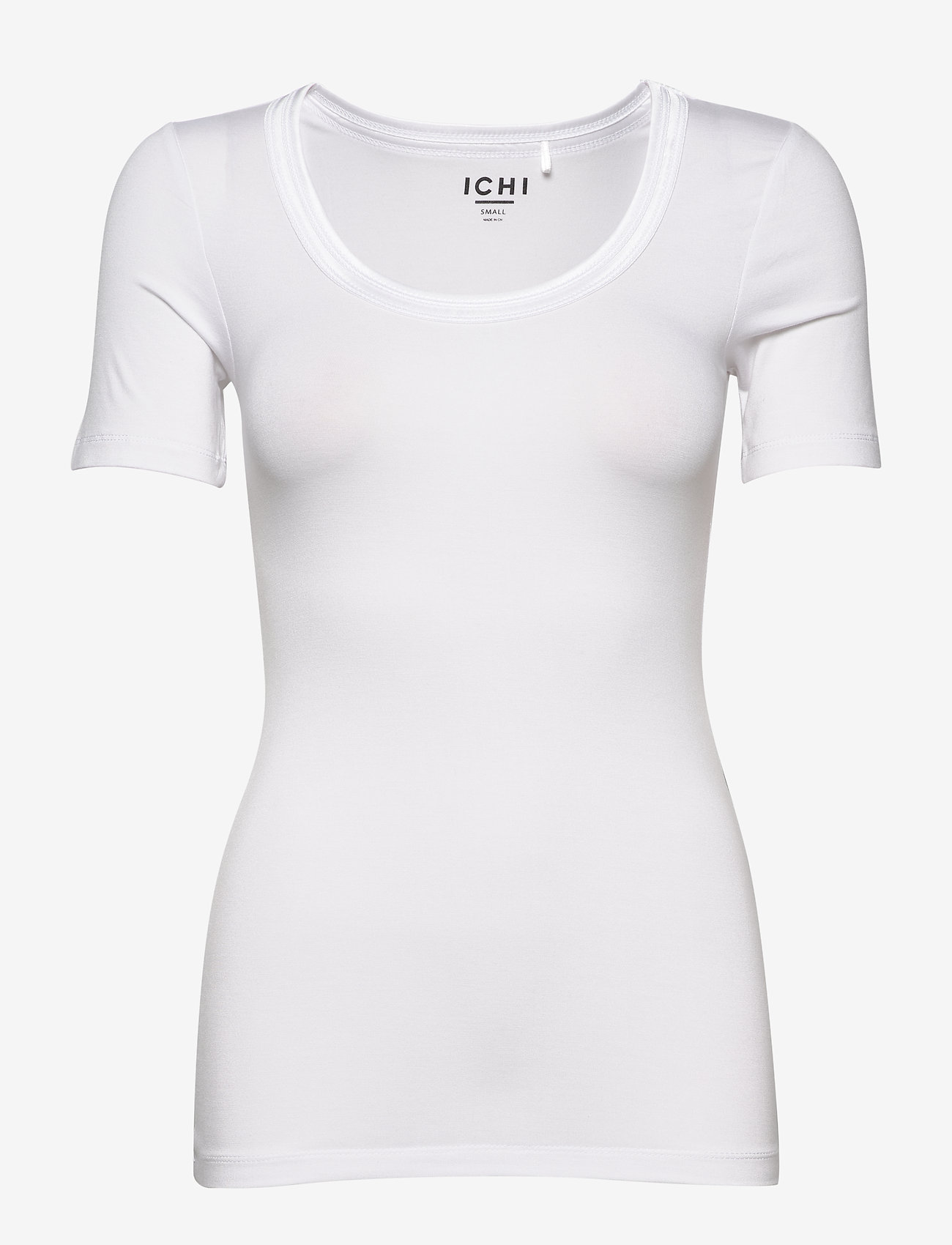 ICHI - IHZOLA SS - t-shirts - white - 0