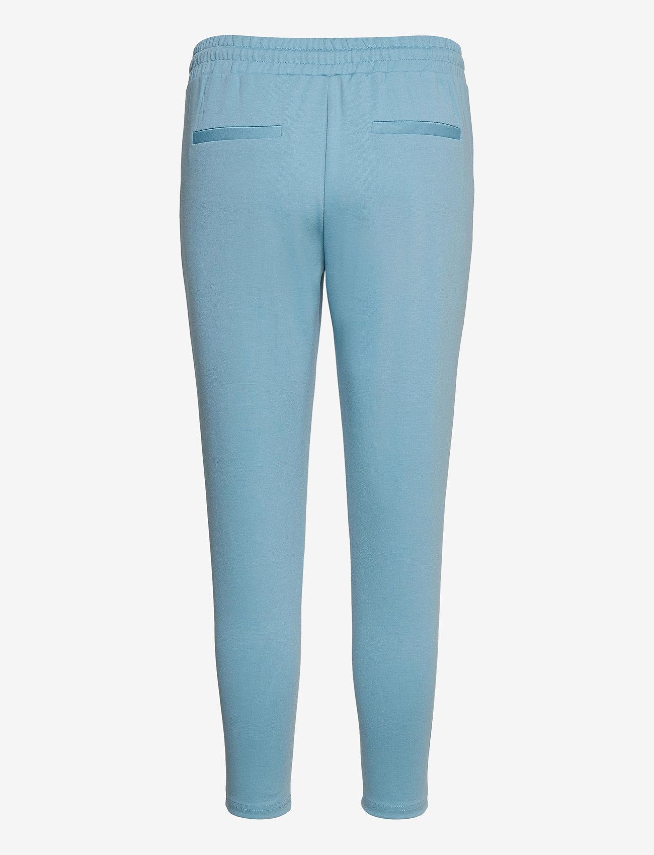 ICHI - IHKATE PA CROPPED - casual trousers - delphinium blue - 1
