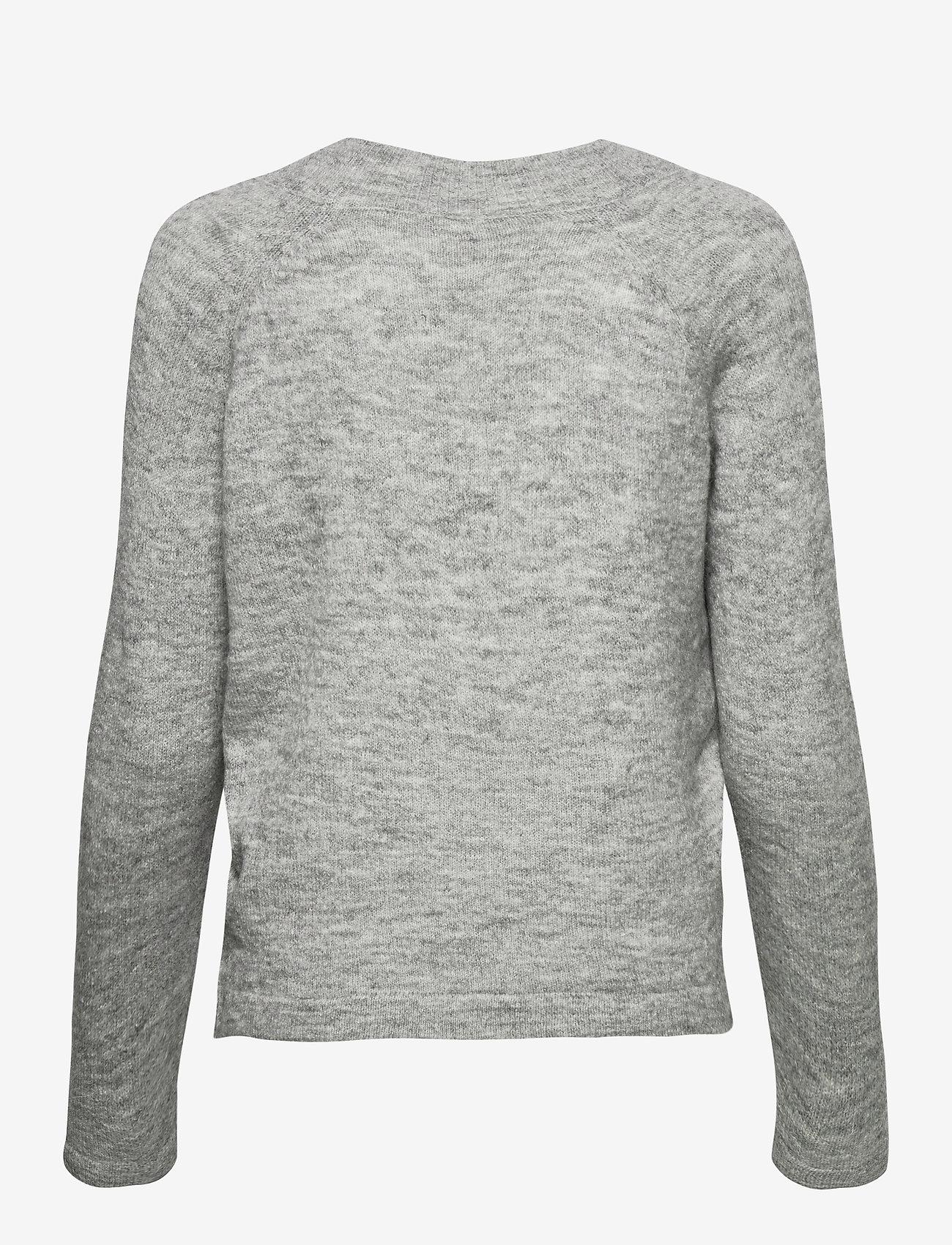 ICHI - IHAMARA V LS - jumpers - grey melange - 1