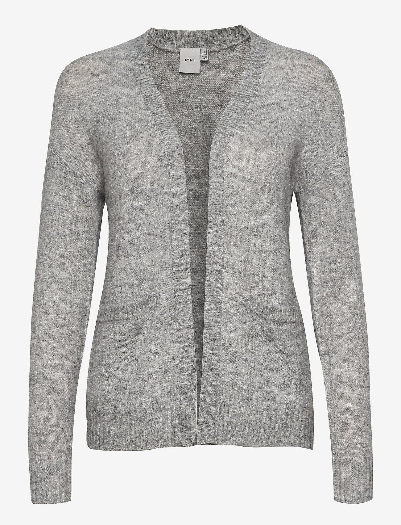 ICHI - AMARA CA2 - cardigans - grey melange - 0