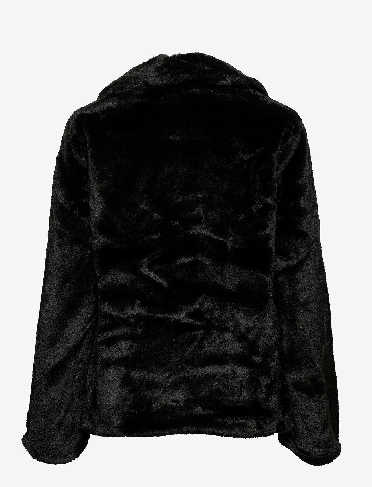 ICHI - SIMPO JA - faux fur - black - 1