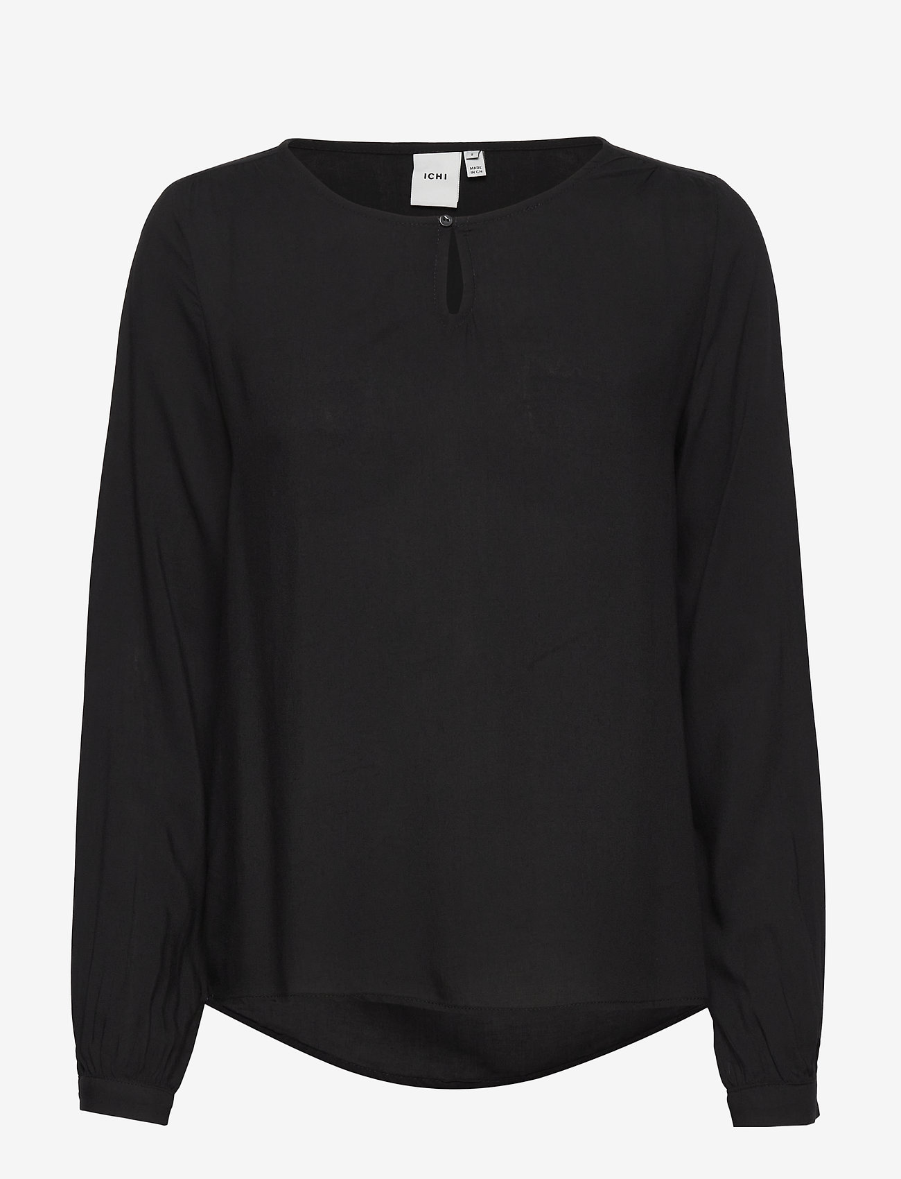 ICHI - IHMAJA LS - long sleeved blouses - black - 0