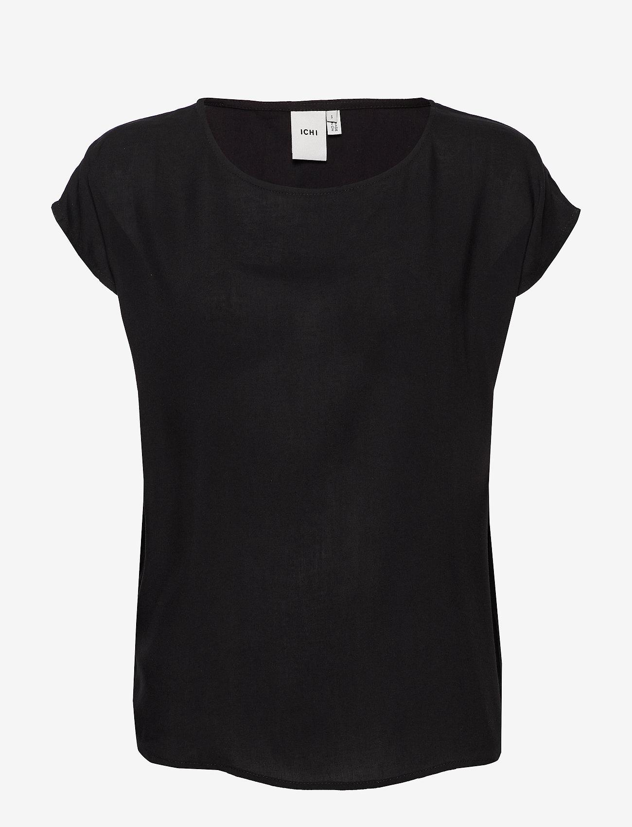 ICHI - IHMAJA SS - t-shirts - black - 0