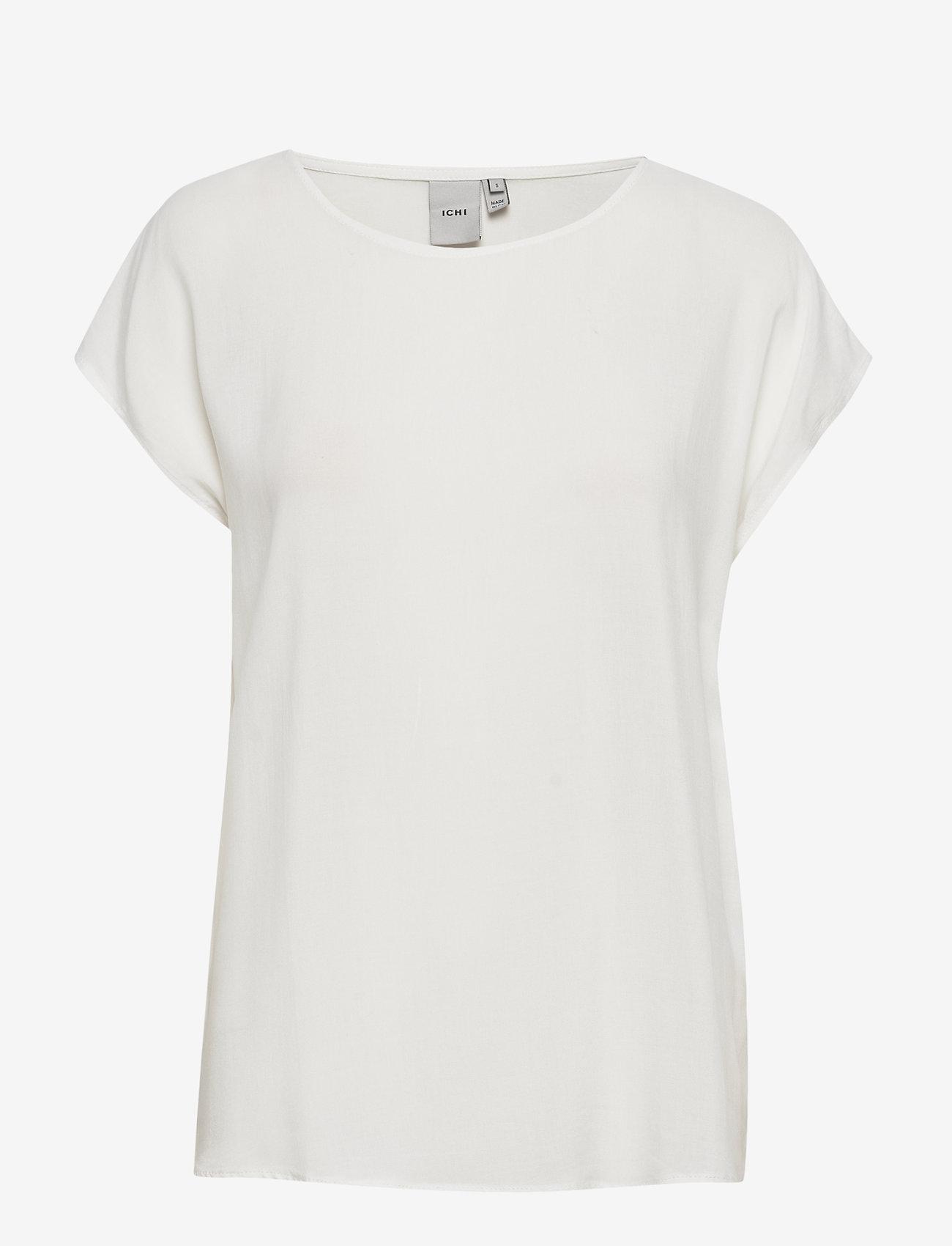 ICHI - IHMAJA SS - t-shirts - cloud dancer - 0