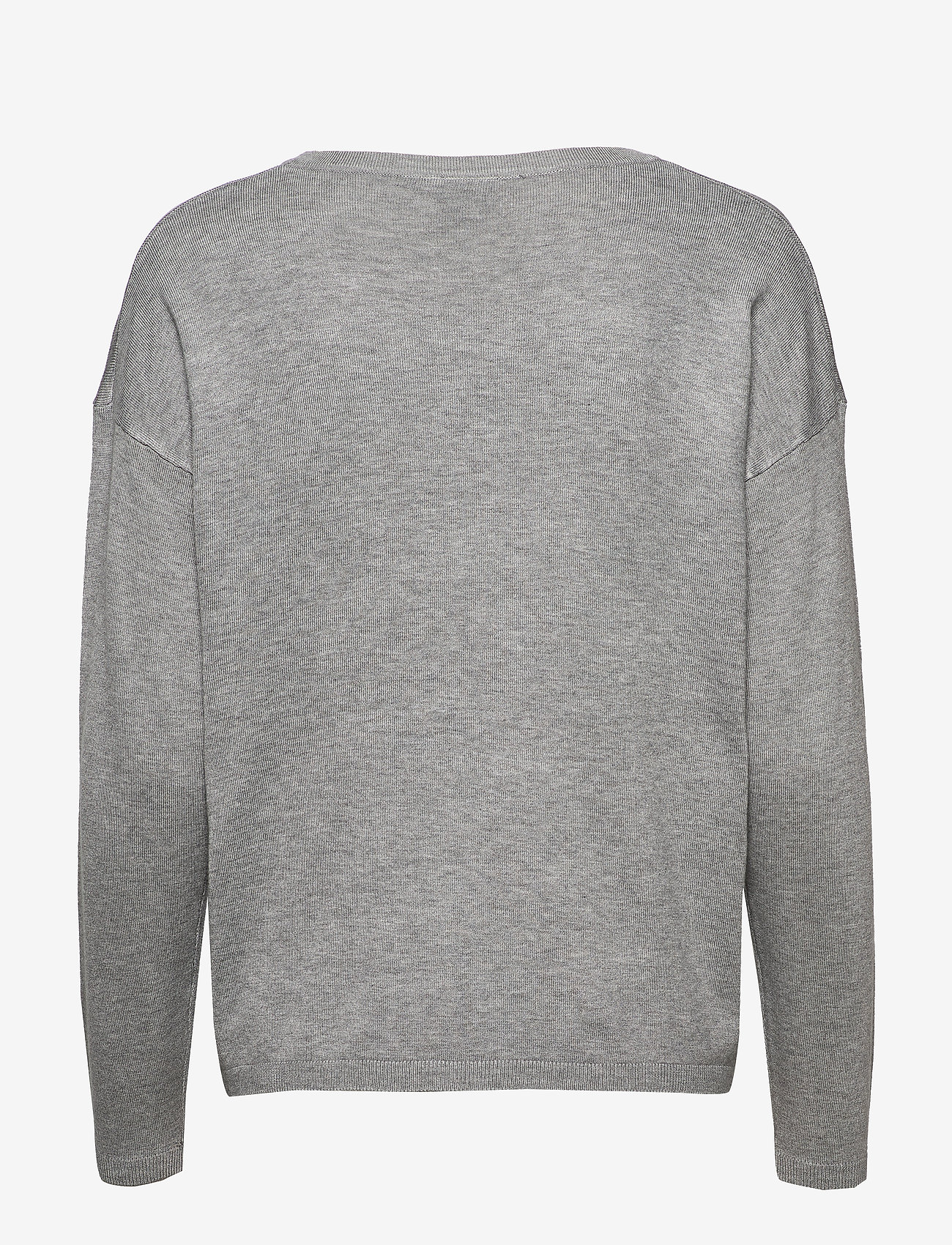 ICHI - IHMAFA V LS2 - jumpers - grey melange - 1