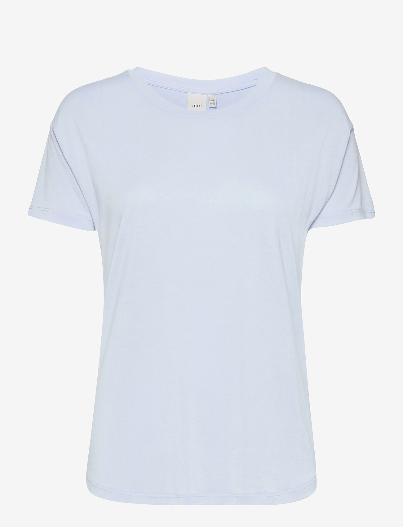ICHI - IHSELMA SS - t-shirt & tops - cashmere blue - 0
