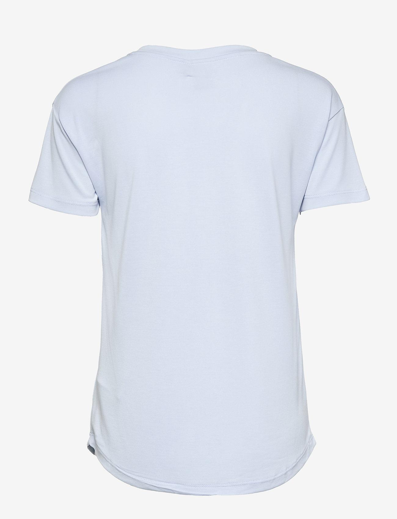 ICHI - IHSELMA SS - t-shirt & tops - cashmere blue - 1
