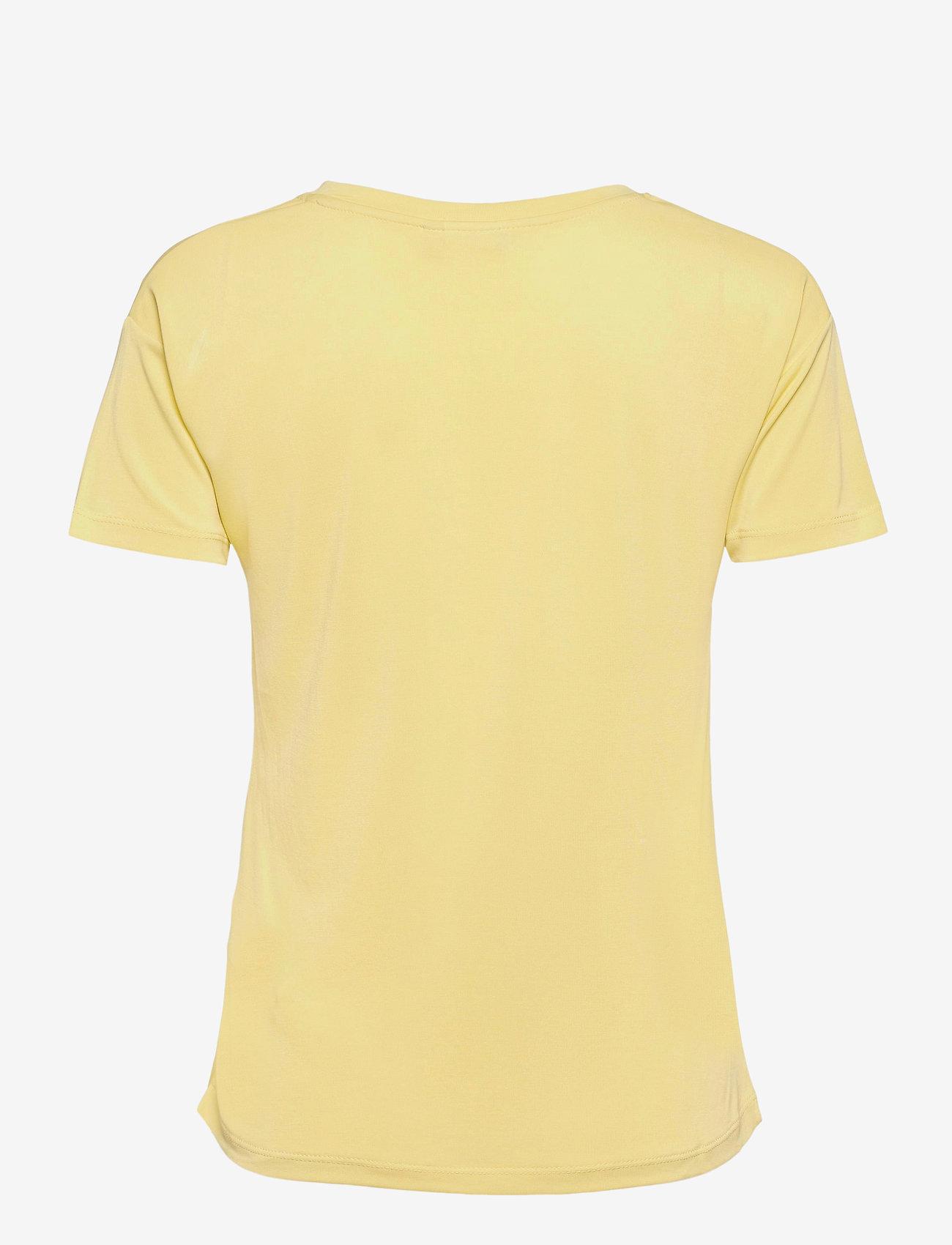 ICHI - IHSELMA SS - t-shirt & tops - golden mist - 1