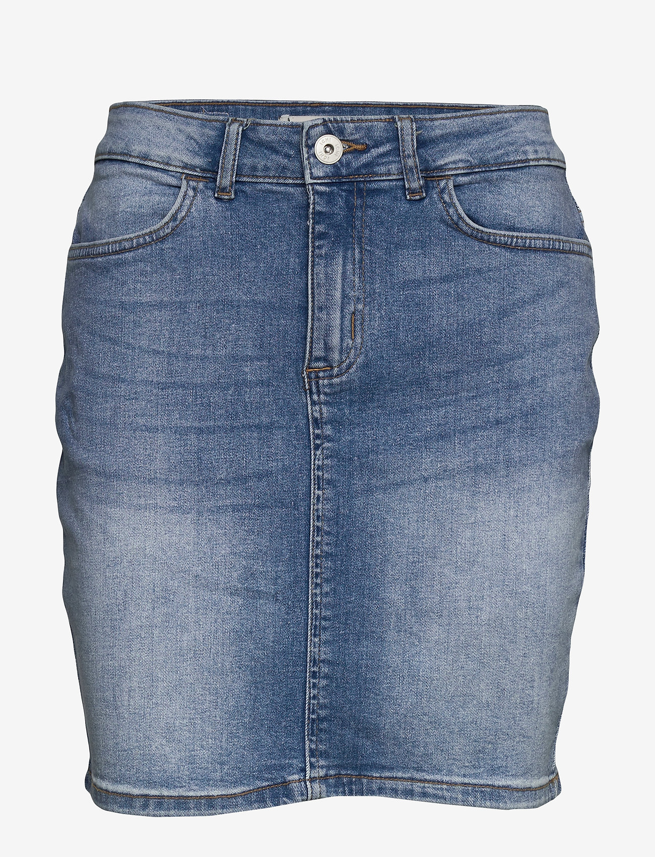 ICHI - IHTWIGGY SK - denim skirts - light blue - 0
