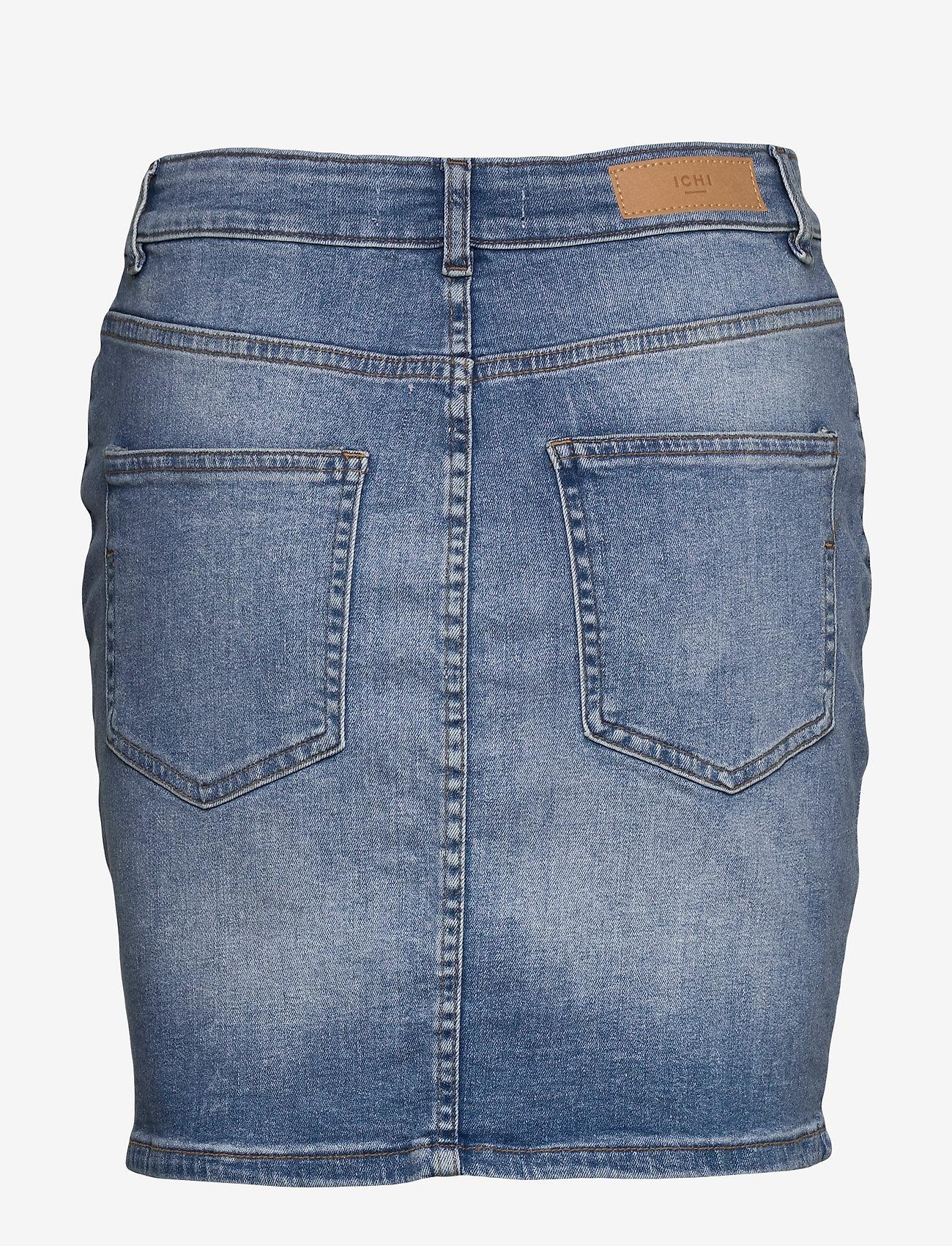 ICHI - IHTWIGGY SK - denim skirts - light blue - 1