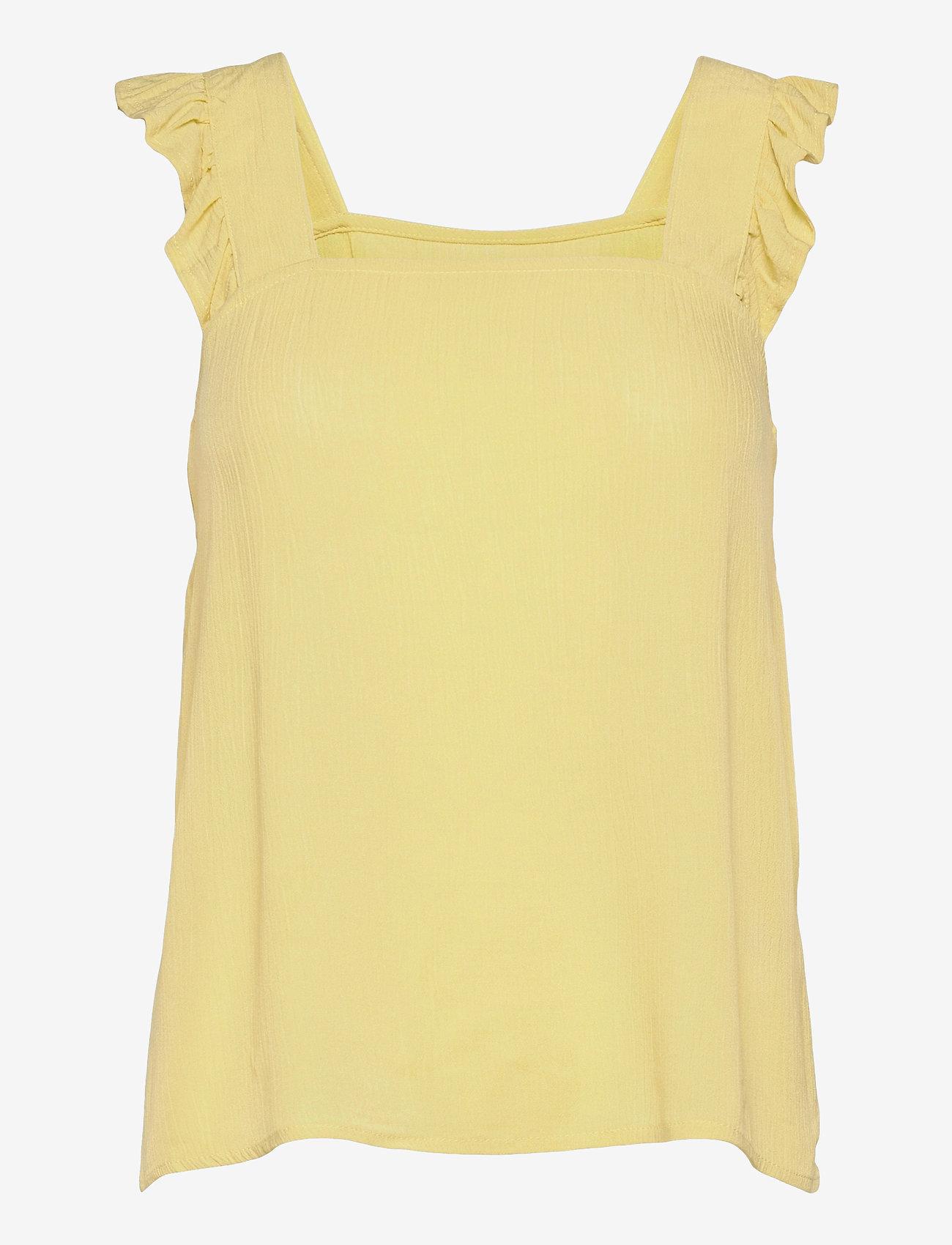 ICHI - IHMARRAKECH SO TO2 - sleeveless blouses - golden mist - 0