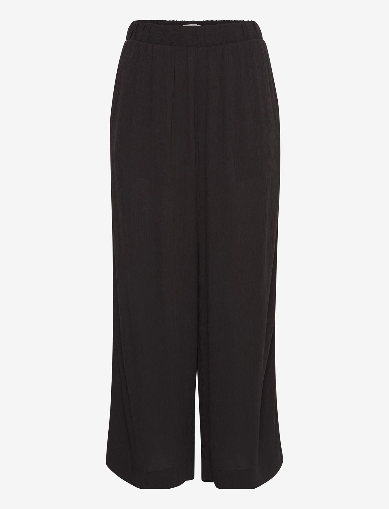ICHI - IHMARRAKECH SO PA - casual trousers - black - 0