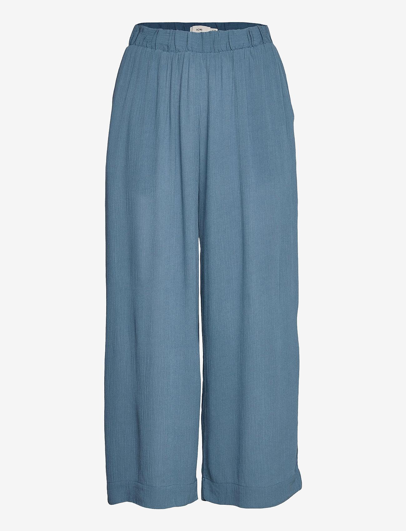 ICHI - IHMARRAKECH SO PA - casual trousers - coronet blue - 0