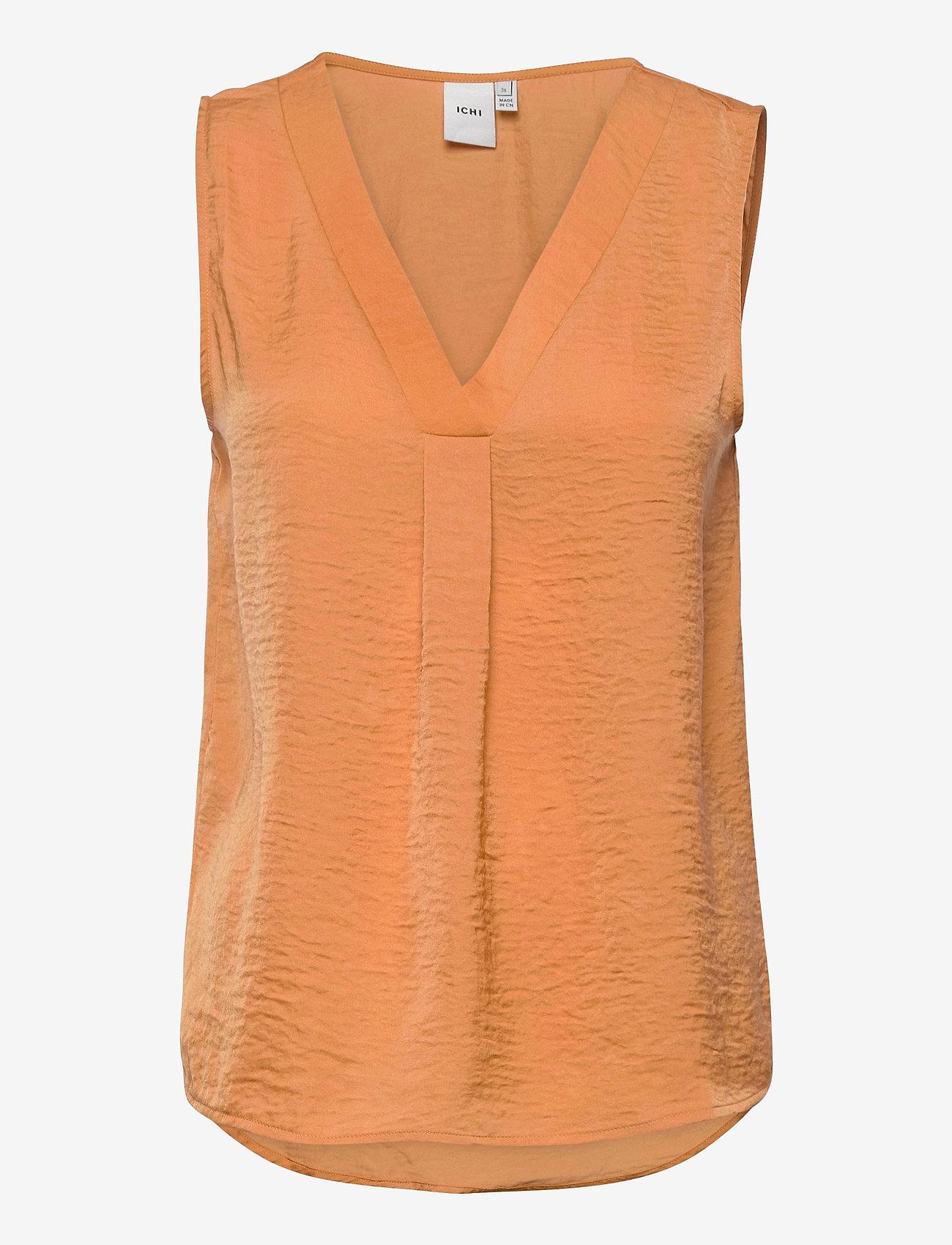 ICHI - IHCRISSY TO2 - sleeveless blouses - caramel - 0