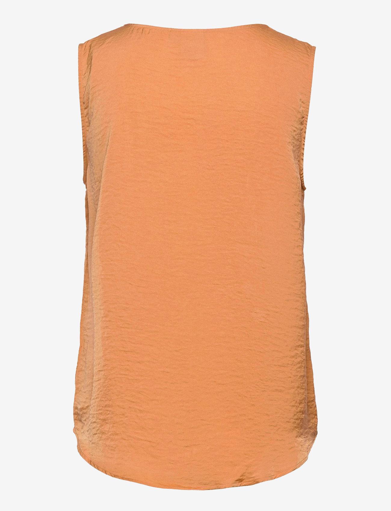 ICHI - IHCRISSY TO2 - sleeveless blouses - caramel - 1