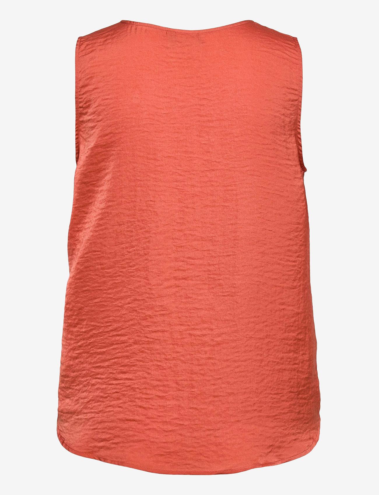 ICHI - IHCRISSY TO2 - sleeveless blouses - hot sauce - 1