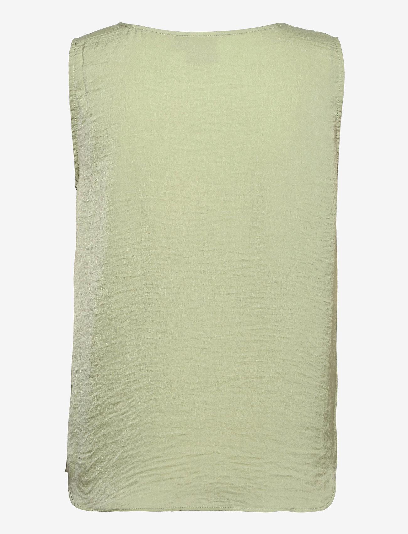 ICHI - IHCRISSY TO2 - sleeveless blouses - swamp - 1