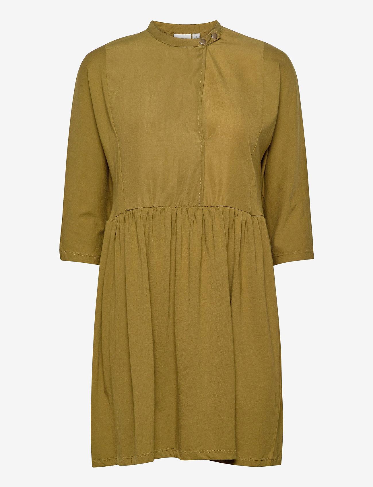 ICHI - IHTANYA DR - everyday dresses - fir green - 0