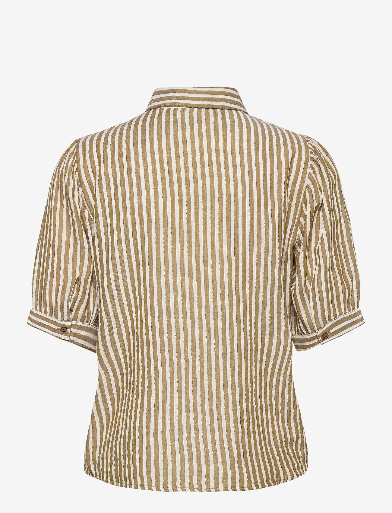 ICHI - IHCAJUN SS - overhemden met korte mouwen - fir green - 1