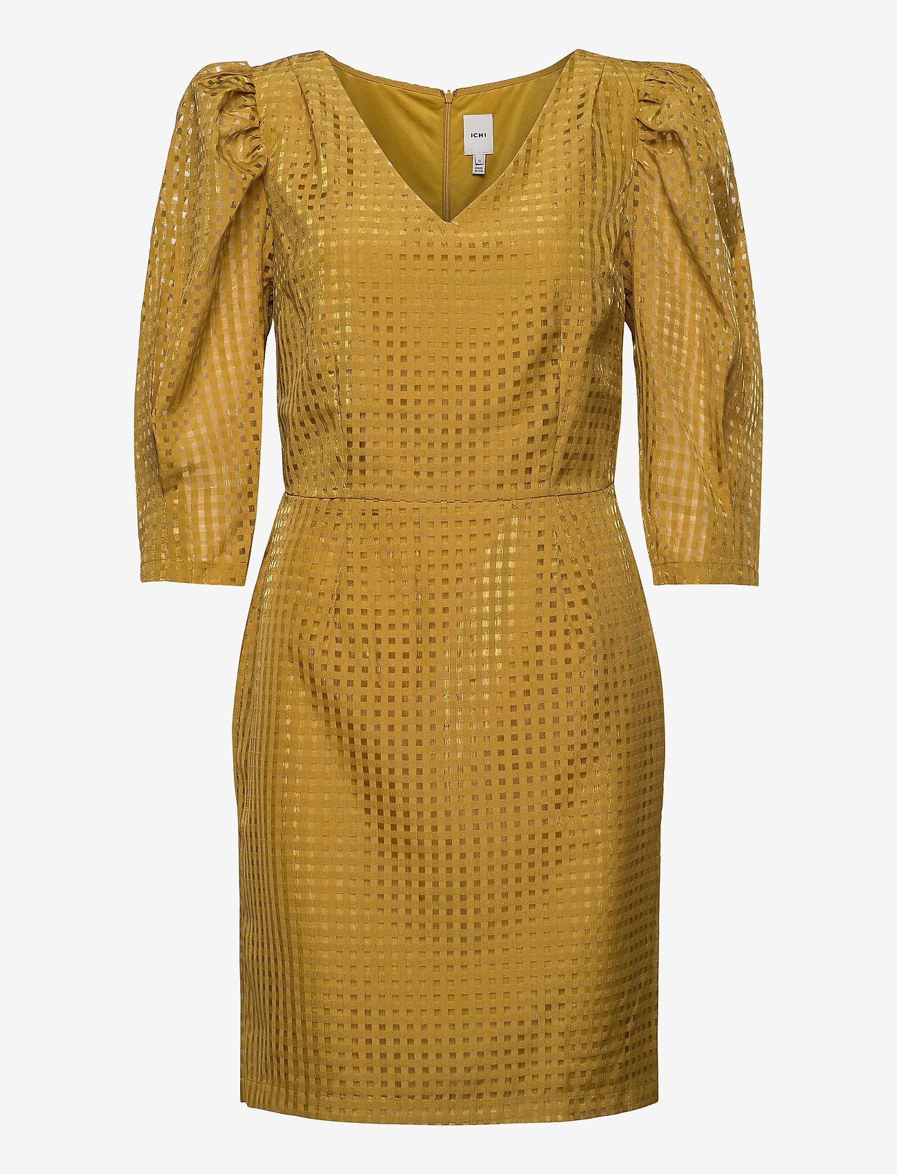 ICHI - IHKAY DR - short dresses - bronze mist - 0