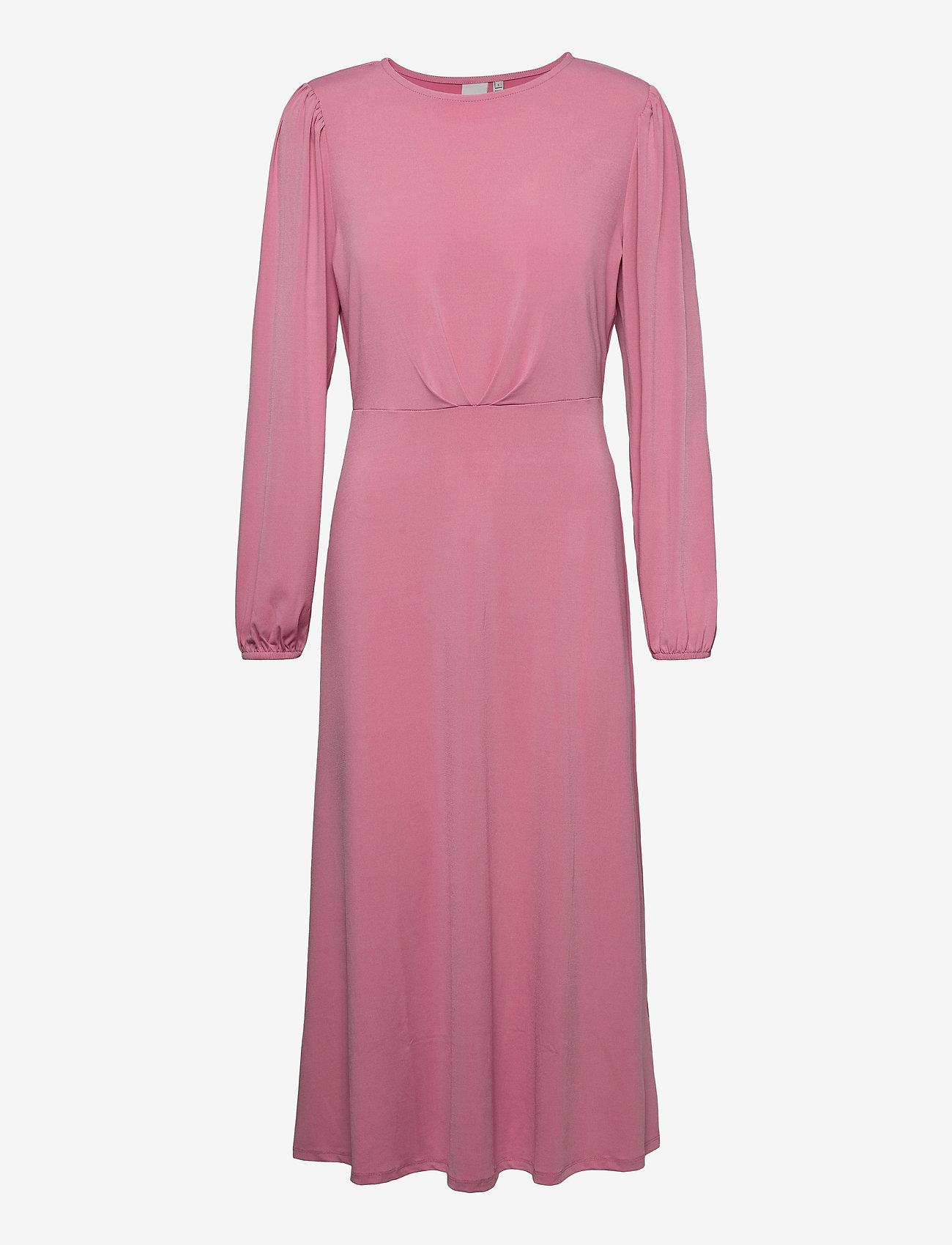 ICHI - IHKIRSTA DR - midi dresses - wild rose - 0