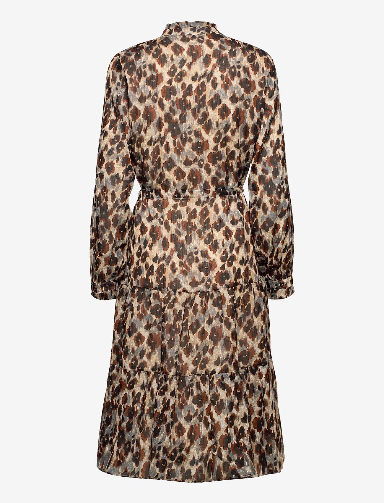 ICHI - IXLIA DR - midi dresses - tapioca - 1