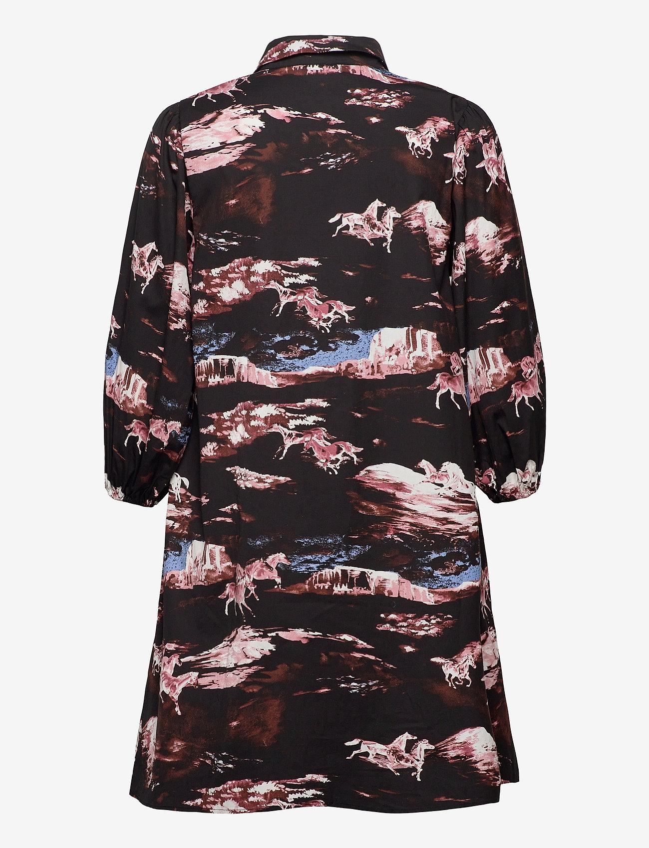 ICHI - IHHADLEY DR - short dresses - black - 1