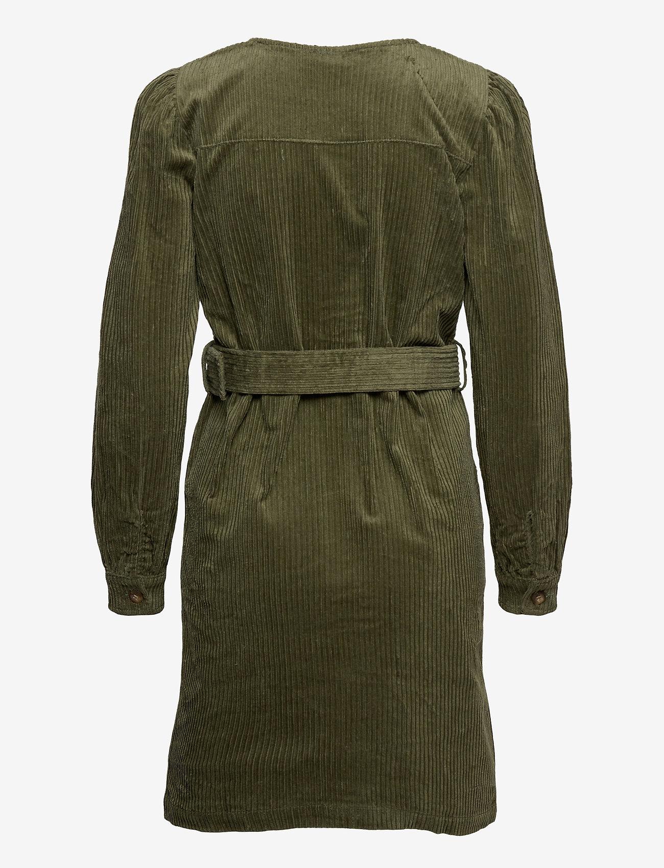 ICHI - IHJORELLE DR - shirt dresses - deep lichen green - 1