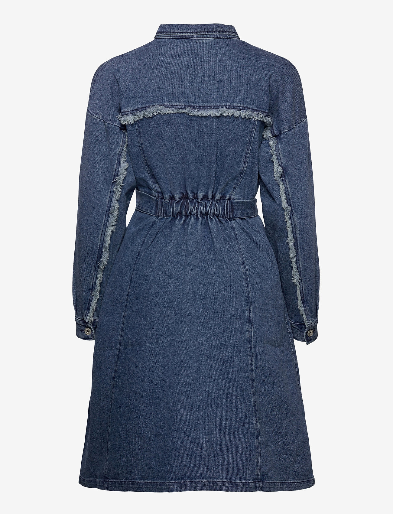 ICHI - IHGULIA DR MED BLUE - denim dresses - medium blue - 1