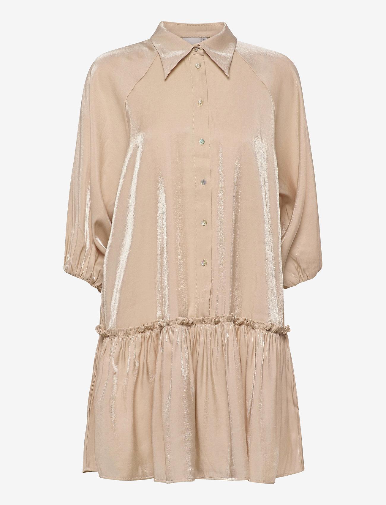 ICHI - IHARIA DR - shirt dresses - meteorite - 0