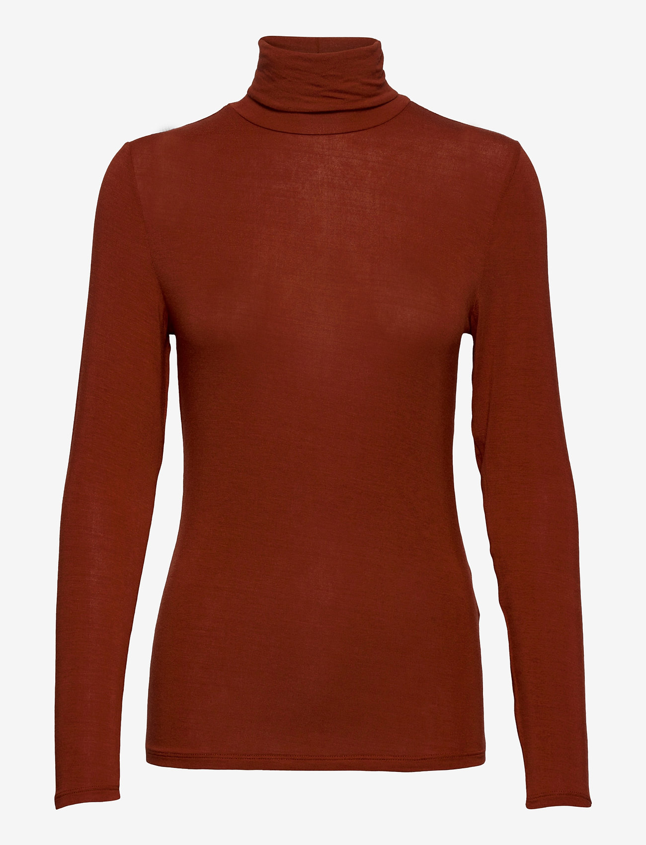 ICHI - IHPHILUCA LS - t-shirt & tops - burnt henna - 0