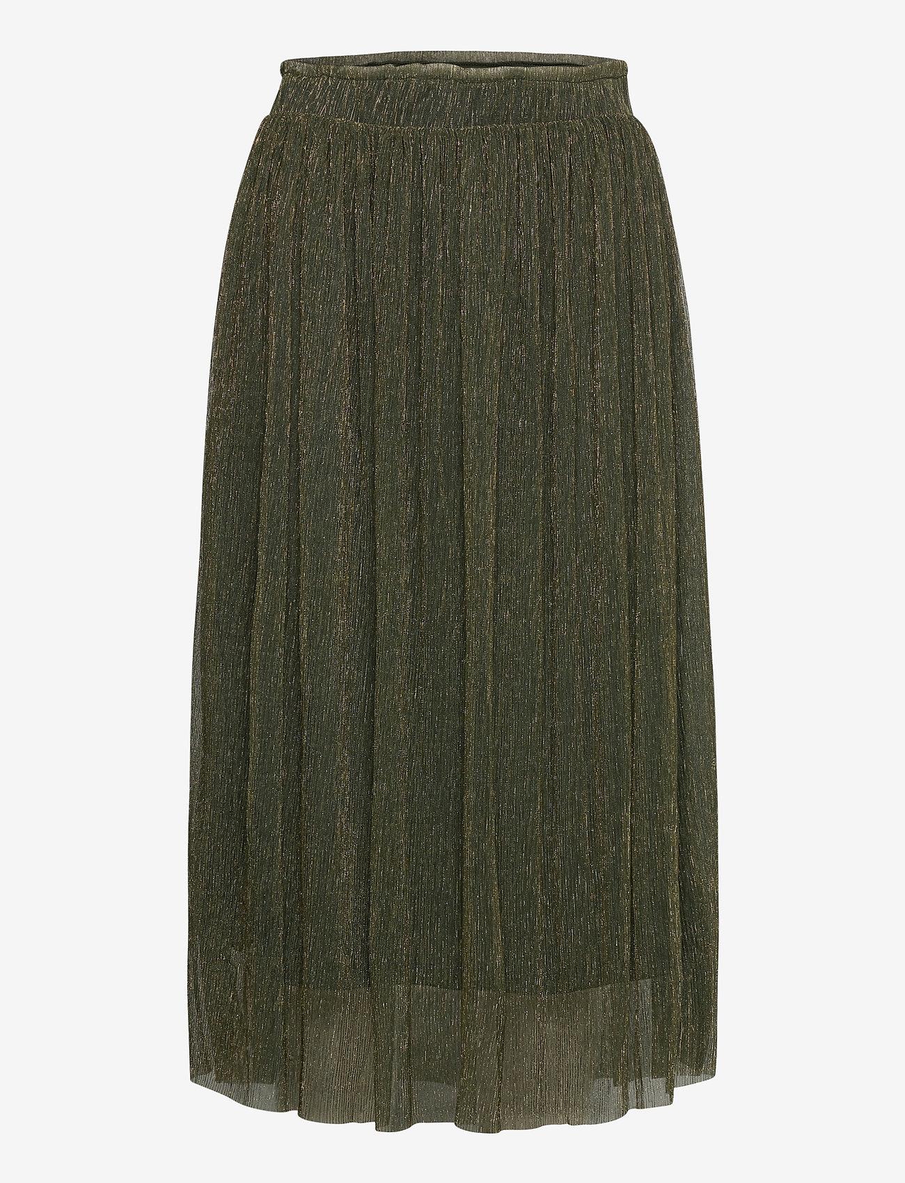 ICHI - IHJAKOBINE SK - midi skirts - kombu green - 0
