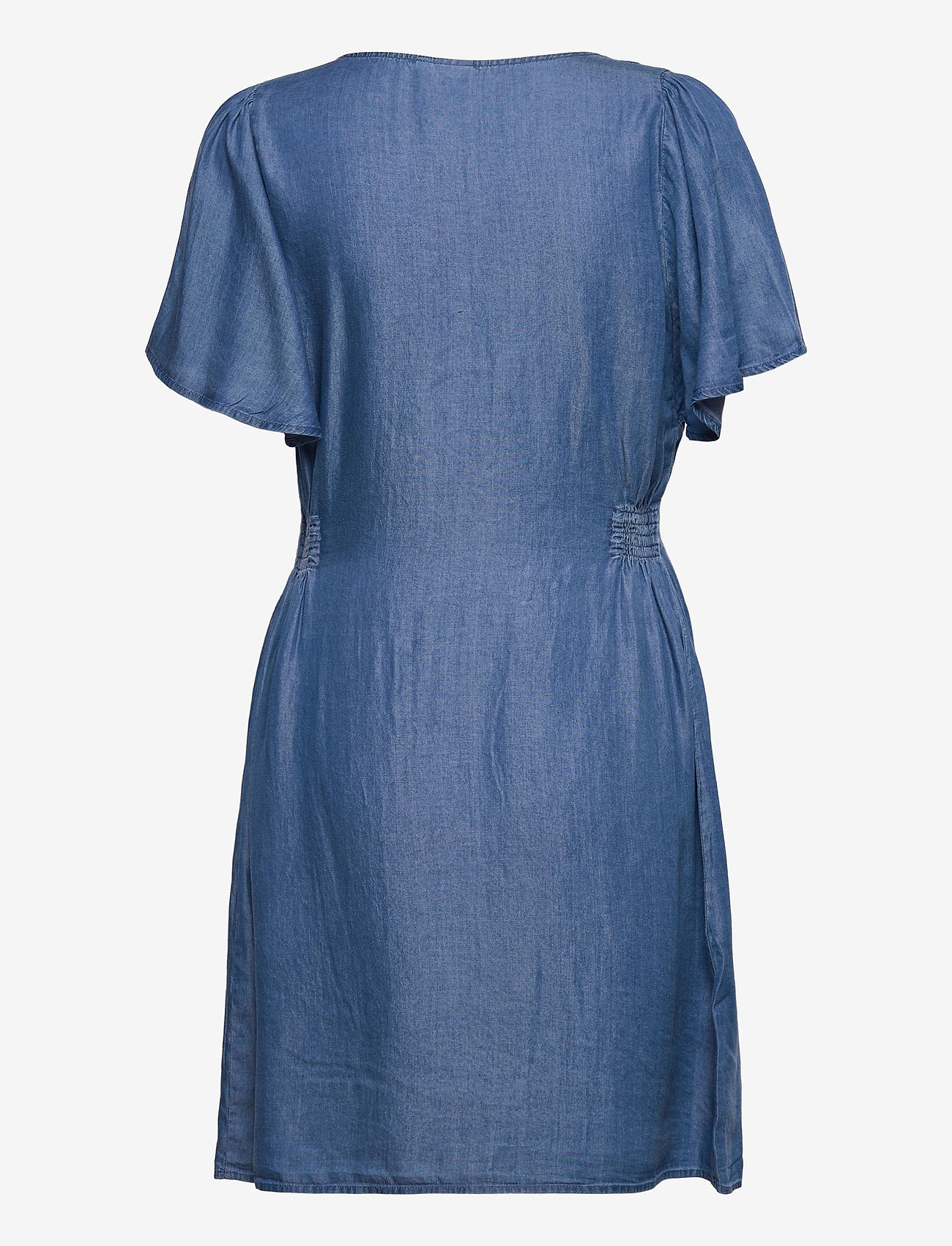 ICHI - IHLAMBREY DR3 - summer dresses - medium blue - 2