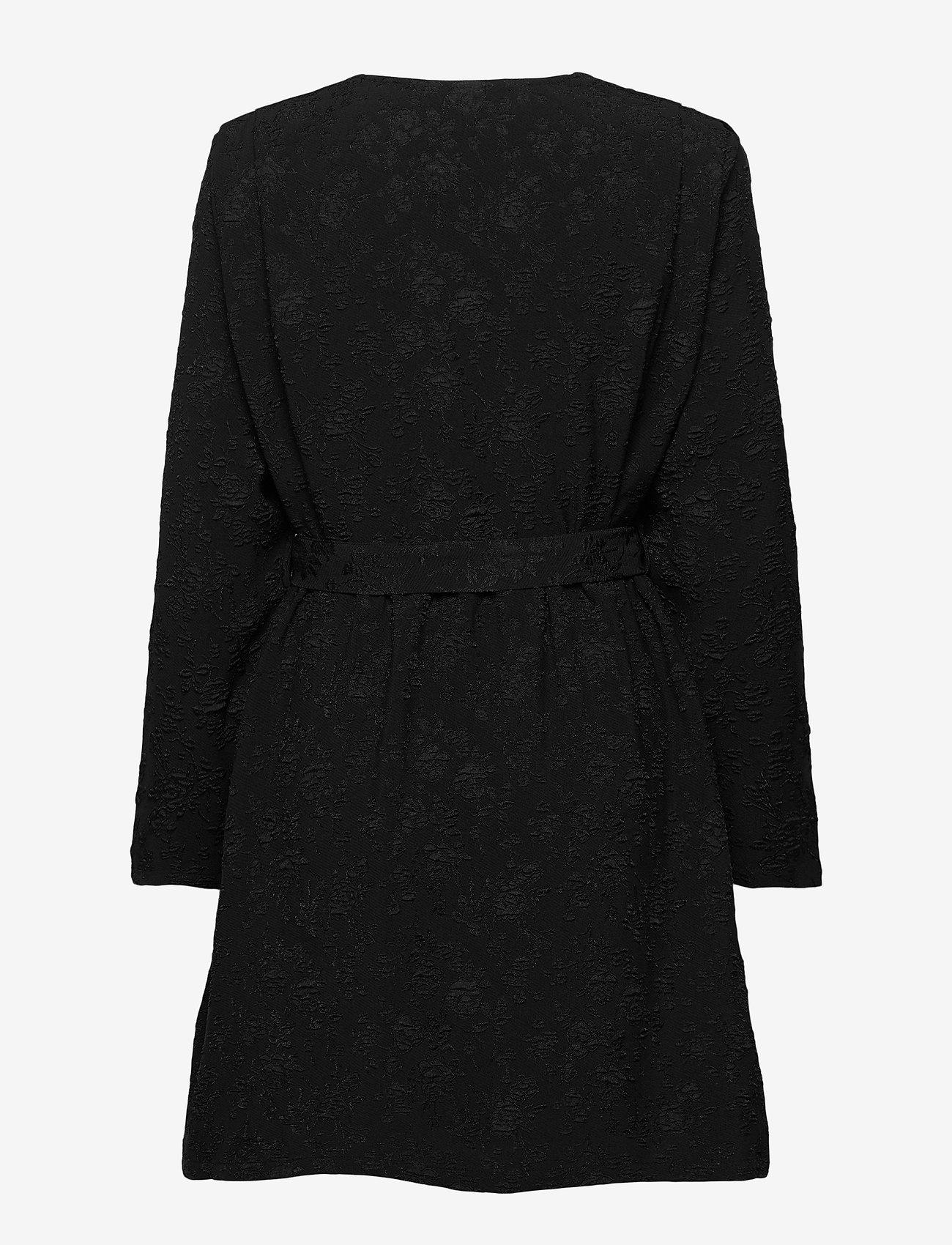 ICHI - IHVIVIANA DR - wrap dresses - black - 1