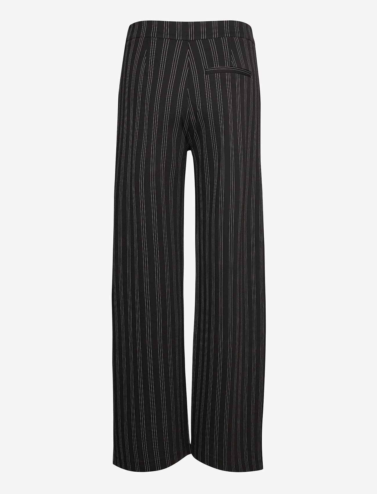 ICHI - IHRUTI PA6 - wide leg trousers - black - 1
