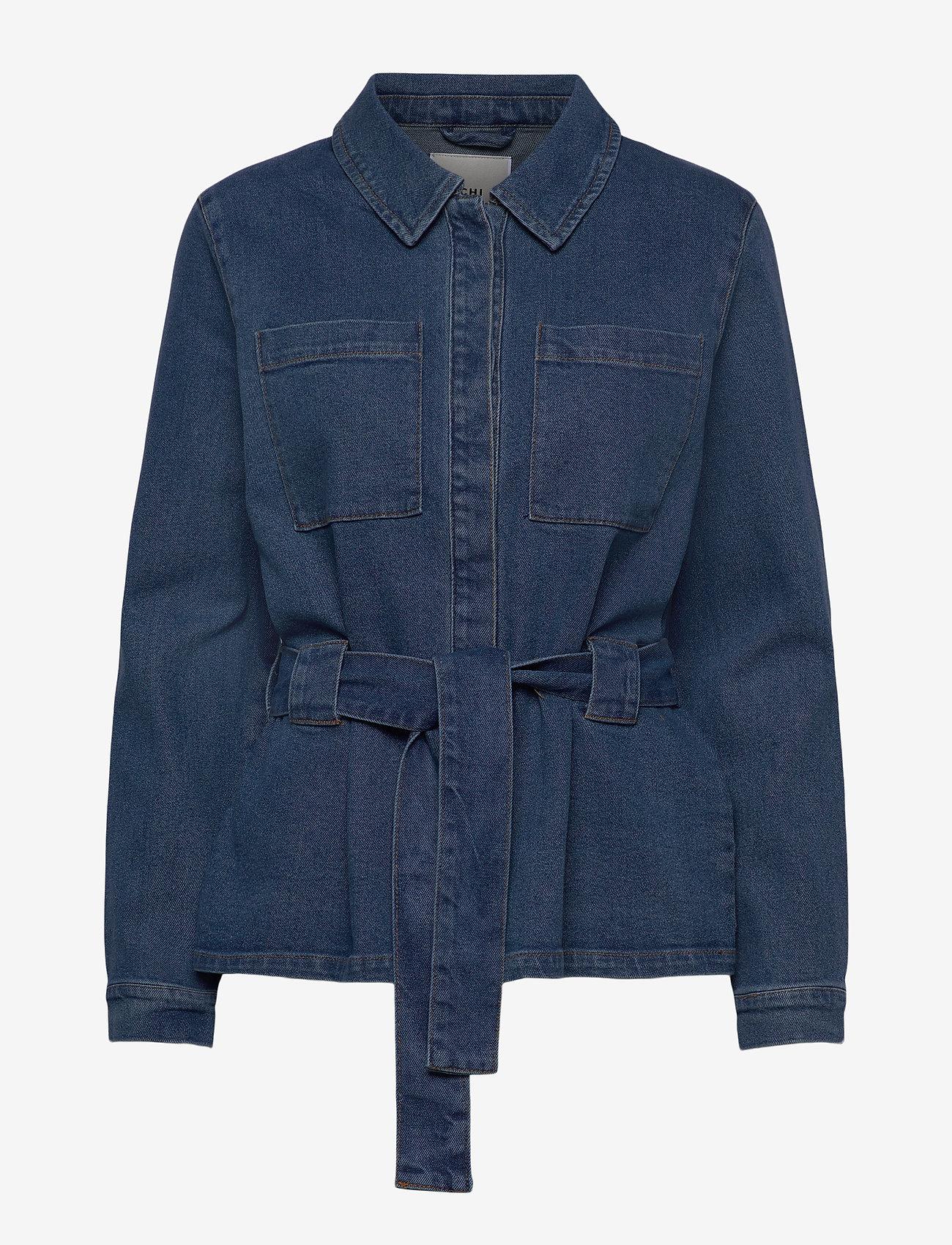 ICHI - IHNICOLE JA - denim jackets - medium blue - 1