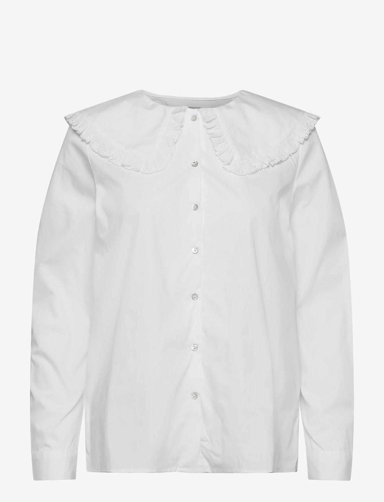 ICHI - IHHALYN SH - long sleeved blouses - cloud dancer - 0
