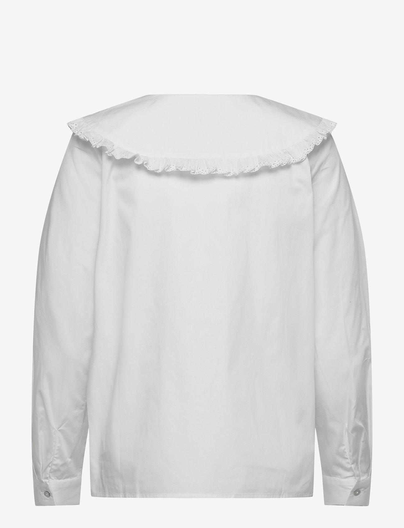 ICHI - IHHALYN SH - long sleeved blouses - cloud dancer - 1