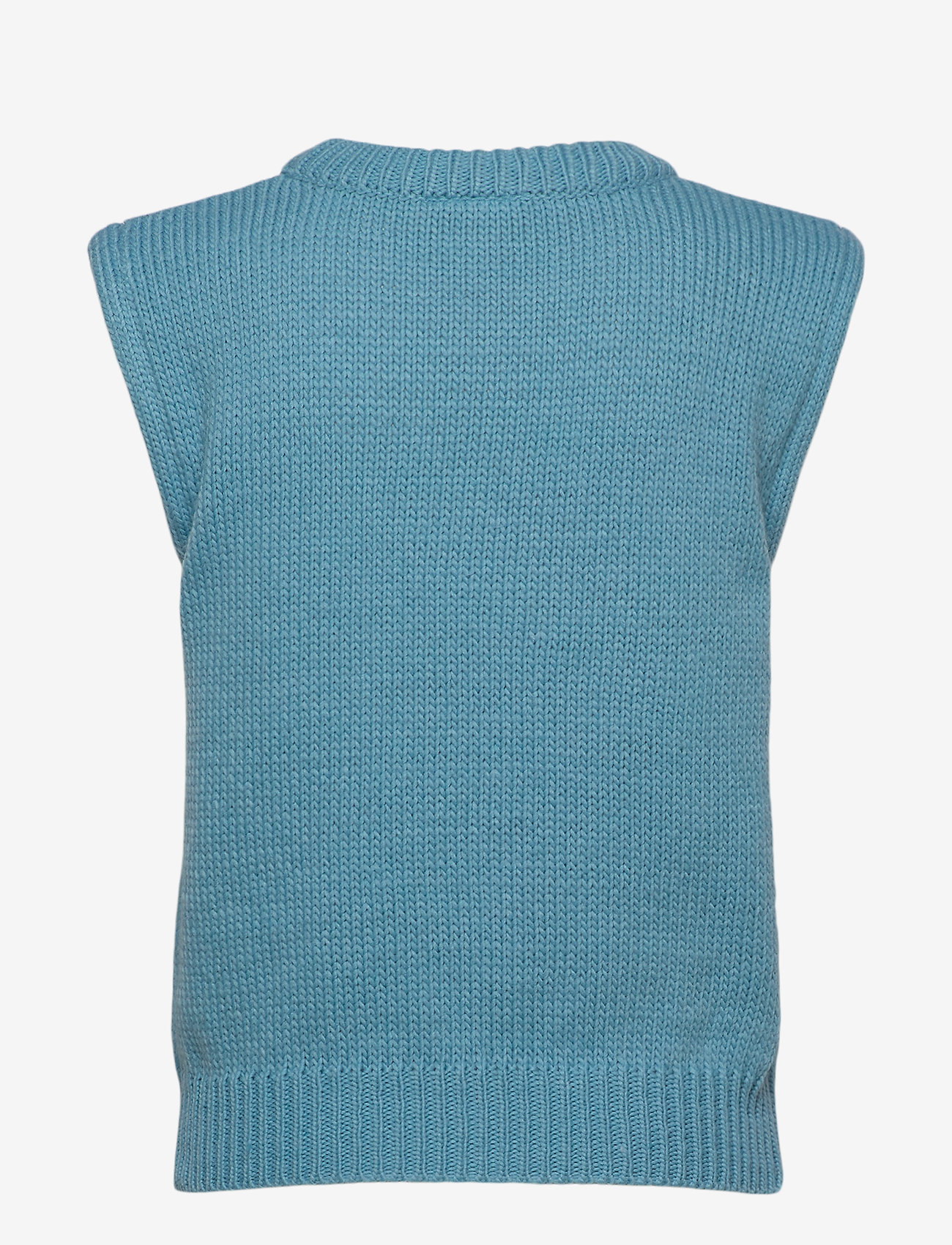 ICHI - IHMILLI WA - knitted vests - delphinium blue - 1