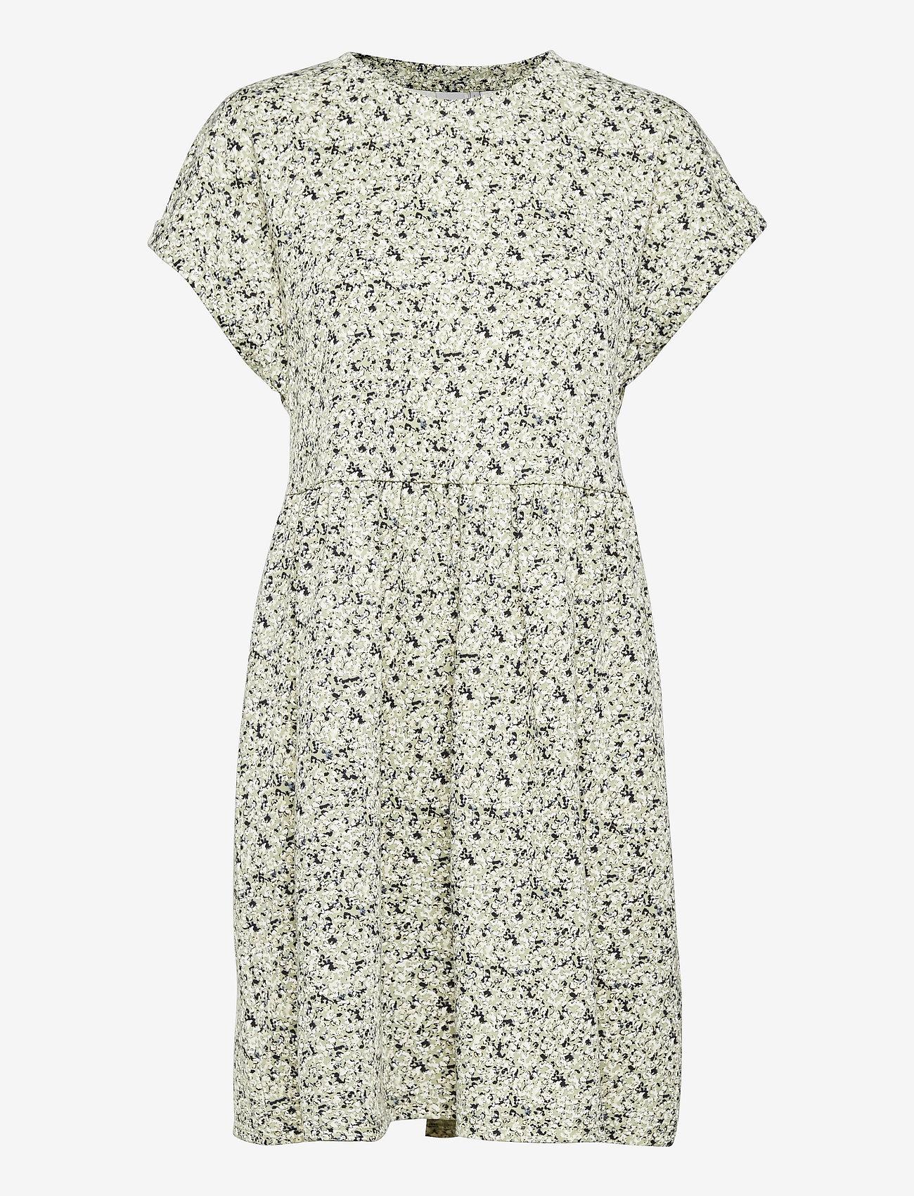 ICHI - IHKATE PRINT DR5 - summer dresses - swamp - 0