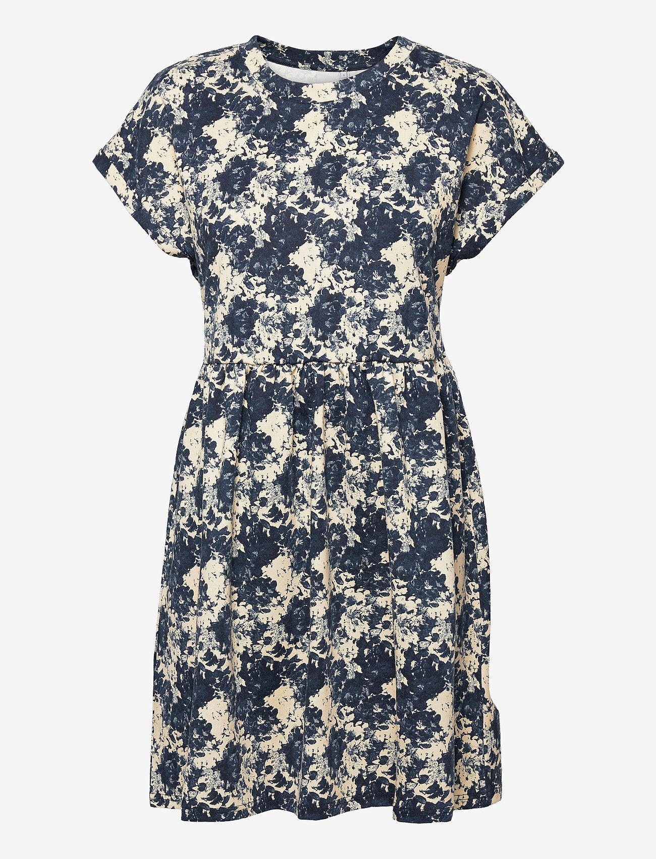 ICHI - IHKATE PRINT DR5 - summer dresses - total eclipse - 0