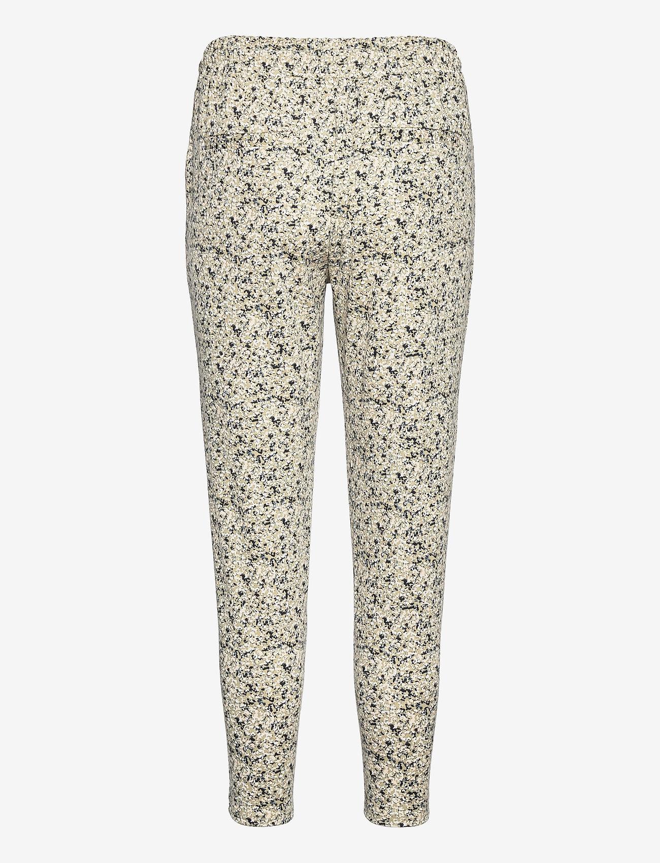 ICHI - IHKATE PRINT PA5 - casual trousers - swamp - 1